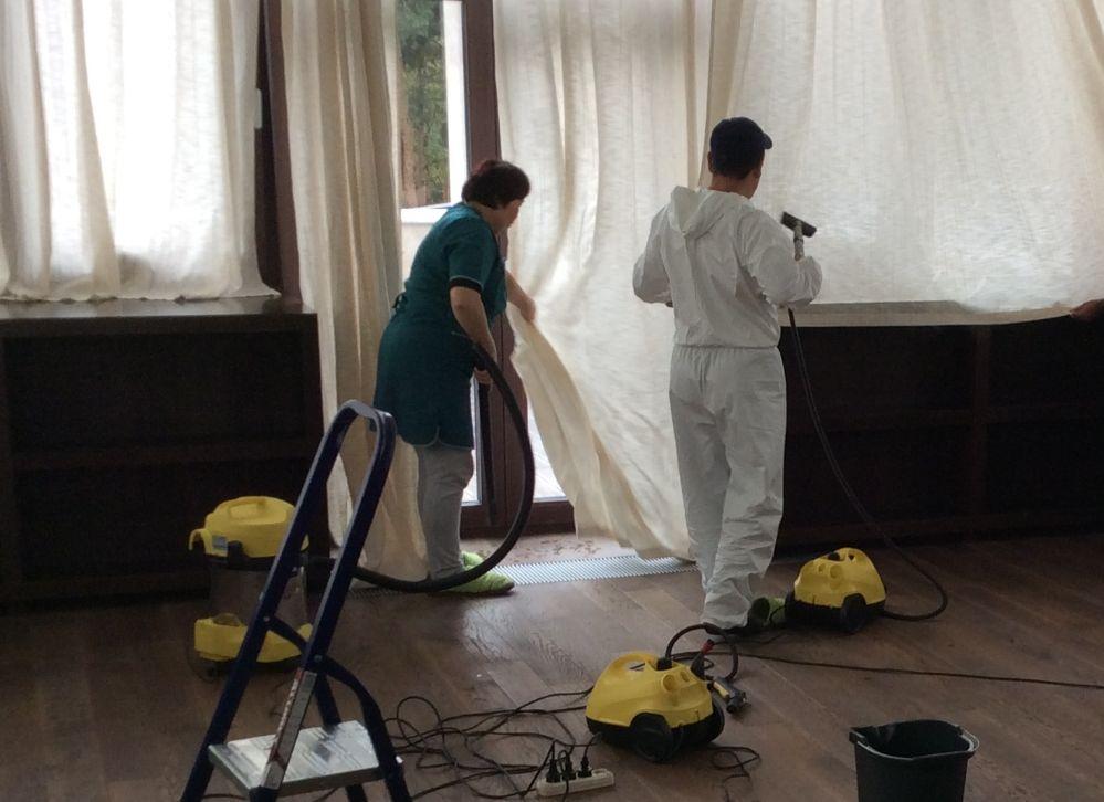 клининг дома после ремонта